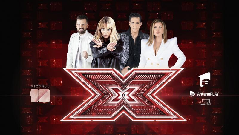X Factor 10 continuă vineri, de la ora 20.30, la Antena 1, când concurenții continuă să se dezvăluie în fața celor patru jurați.