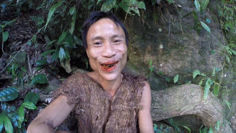 Ho Van Lang a trăit timp de 41 de ani în jungla din Vietnam