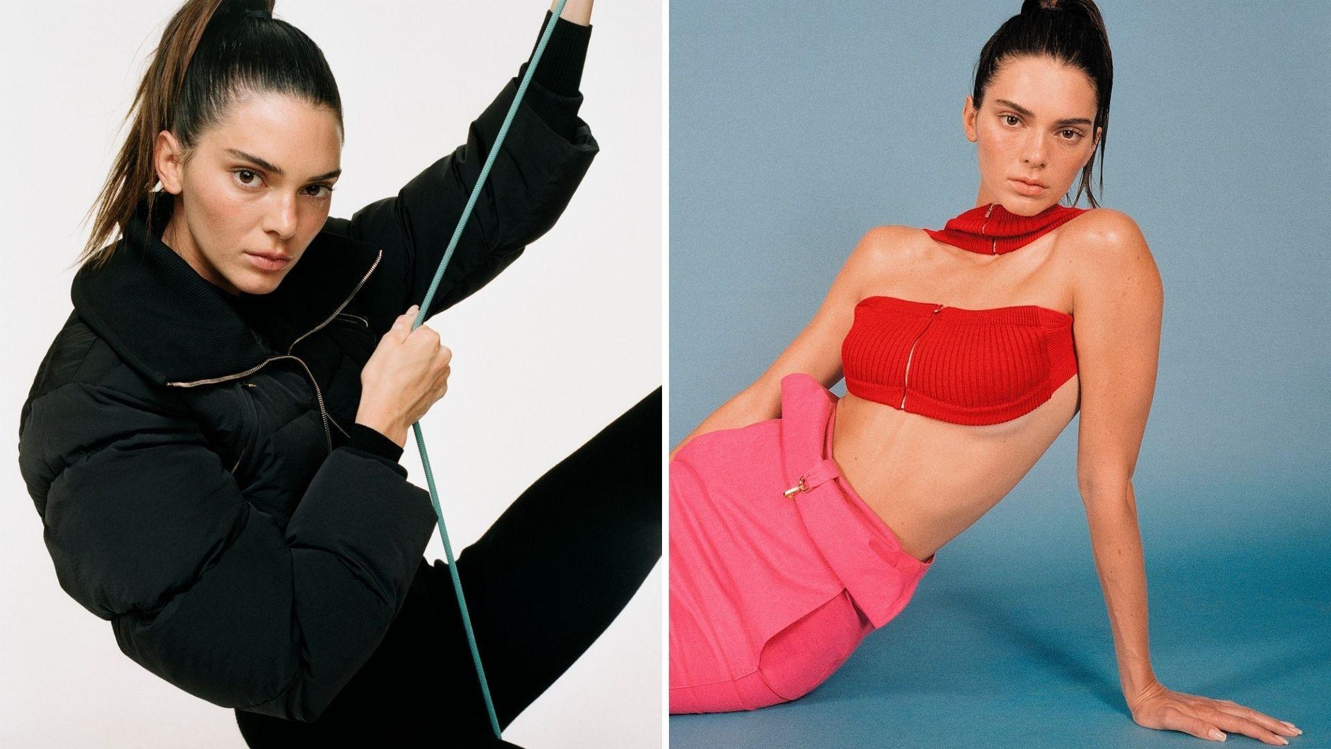 Kendall Jenner, apariție de senzație la Met Gala 2021. Top modelul a îmbrăcat o rochie transparentă, cu multe cristale