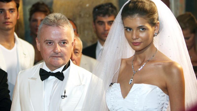 Monica Gabor a fost căsătorită cu Irinel Columbeanu