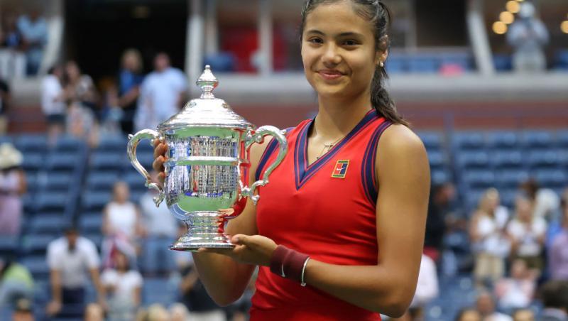Emma Răducanu s-a născut în 2002