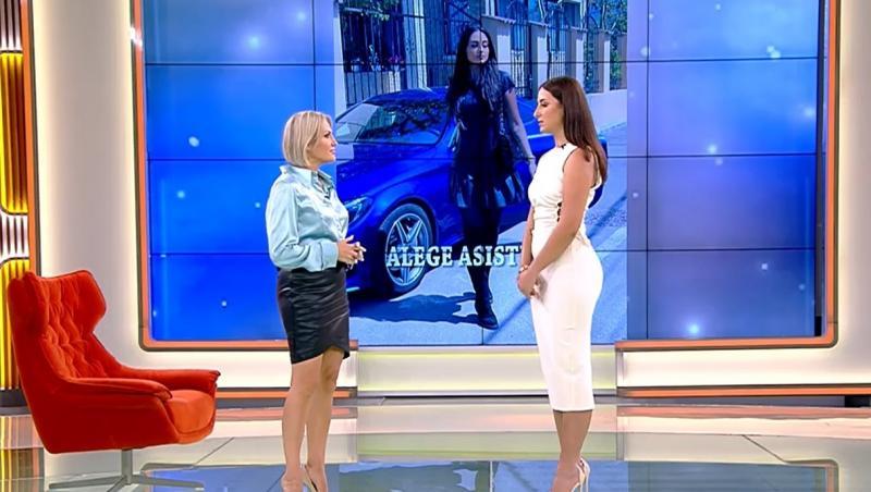 Mirela Vaida și Bianca Ciuraru în platoul Acces Direct