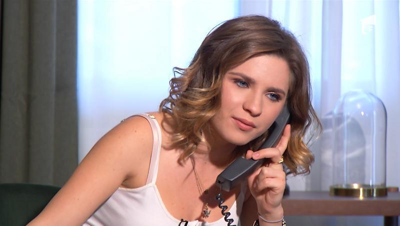 """Cristina Ciobănașu o interpretează pe """"Livia"""" în serialul Adela"""
