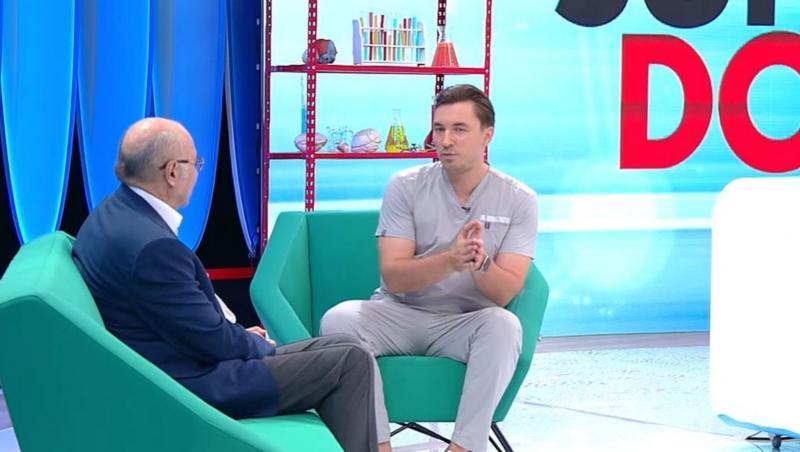 Captura platou MediCOOL - Mihail Pautov si unul dintre invitati