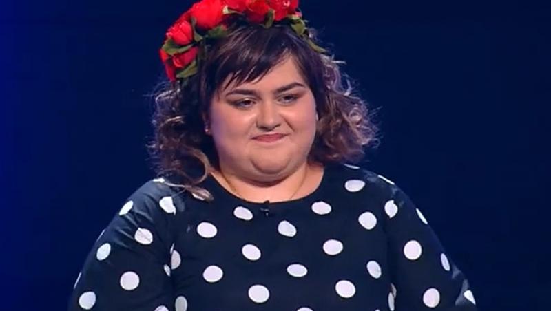 Ariana Gălbenuș pe scena x factor de la antena 1