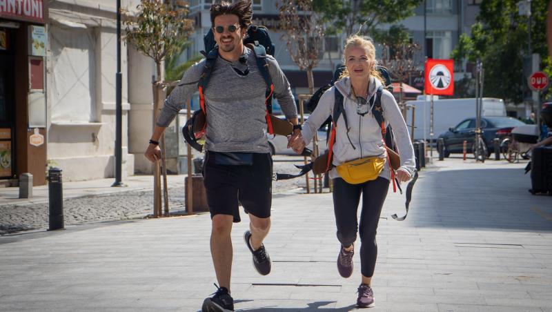 Mihai Petre și Elwira aleargă la Asia Express