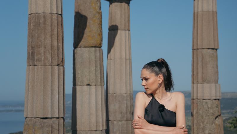 Irina Fodor la pupitrul Asia Express