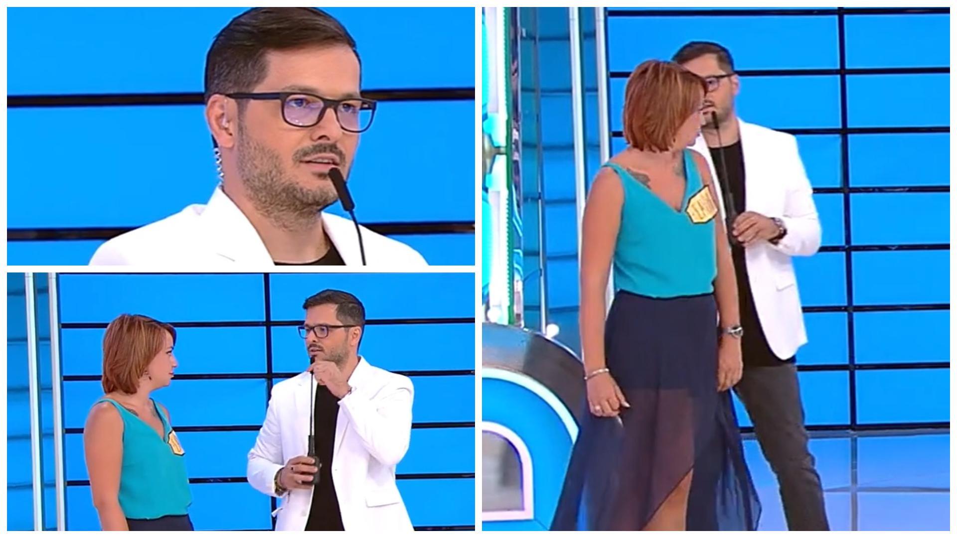 """Prețul cel bun, 20 septembrie 2021. Liviu Vârciu a remarcat un detaliu inedit la concurenta Lavinia: """"Hai să ne întoarcem un pic"""""""