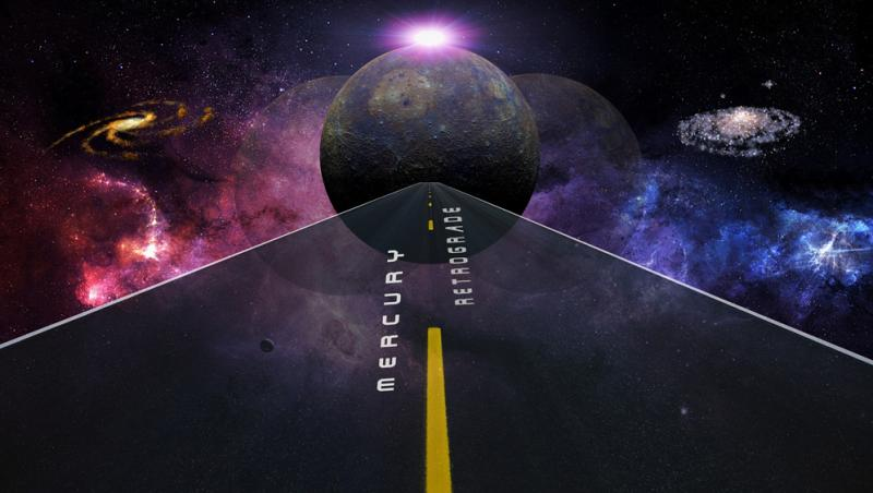 planeta mercur care este in tranzic, adica retrograd intr-o alta zodie