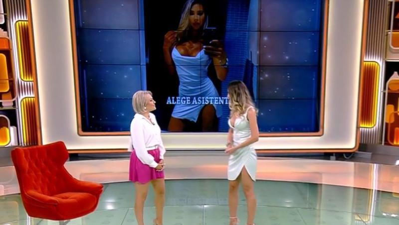 Cosmina Scăunașu, noua asistentă tv de la Acces Direct
