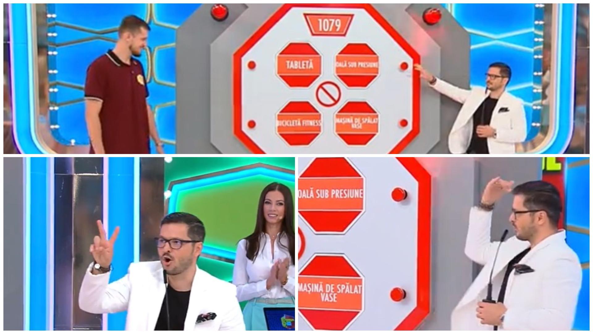 Prețul cel bun, 21 septembrie 2021. Ștefan a câștigat 4 premii și l-a uimit pe Liviu Vârciu cu înălțimea sa