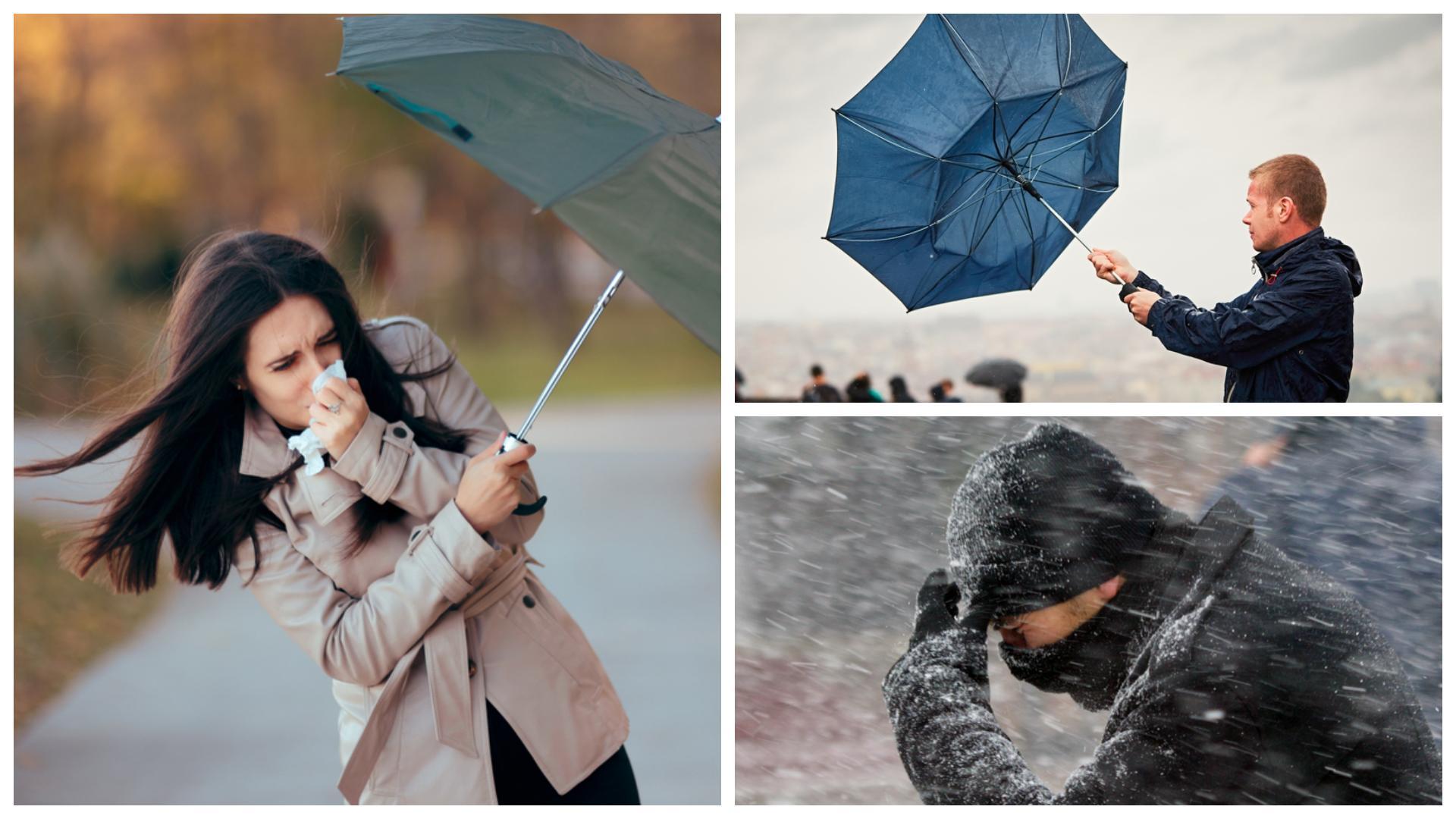 Meteorologii anunță vreme deosebit de rece și vânt puternic. În ce regiuni se aștepată lapoviță și ninsoare