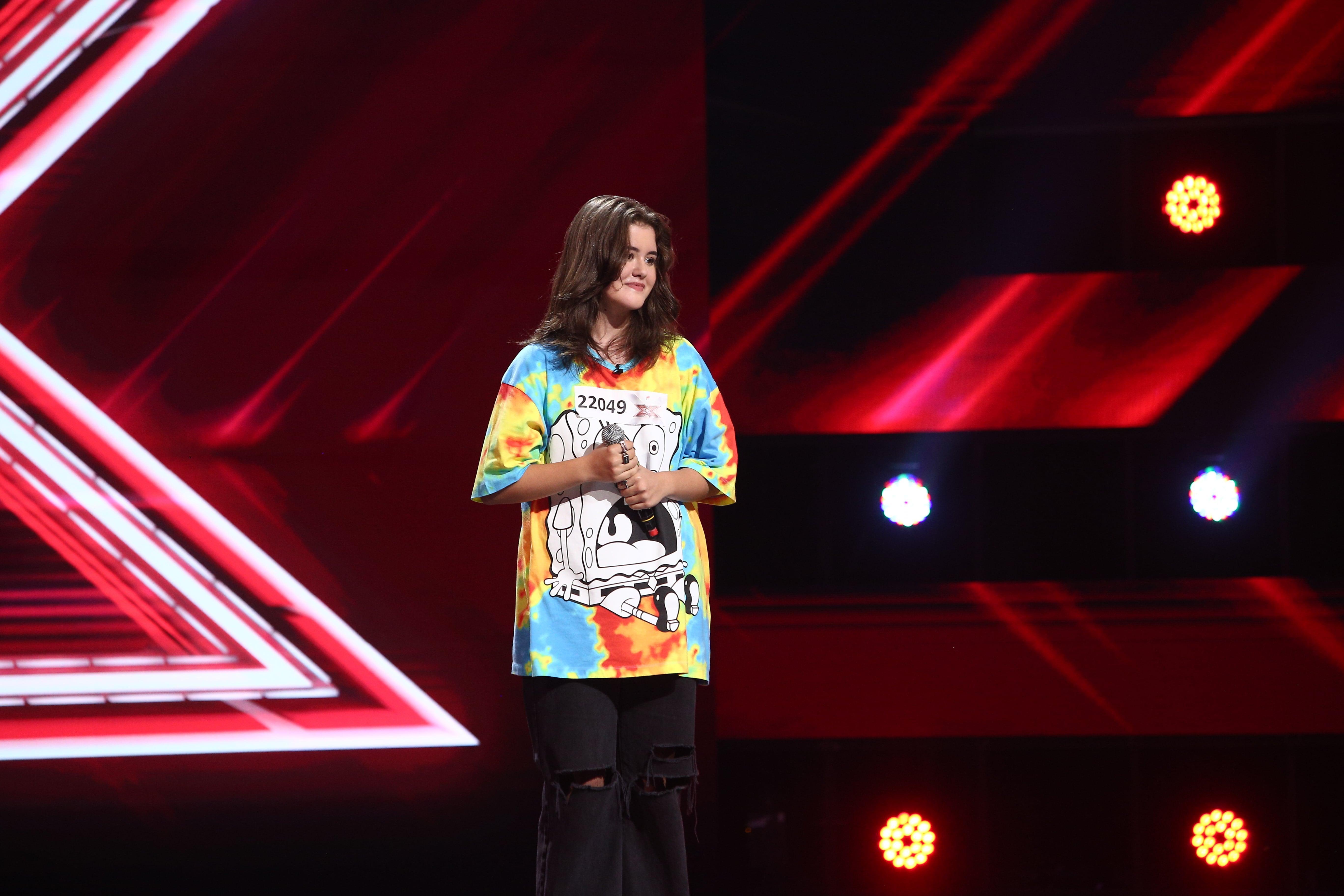 """X Factor 2021, 24 septembrie. Betty Iordăchescu impresionează juriul cu o interpretare de excepție a piesei """"All of me"""""""