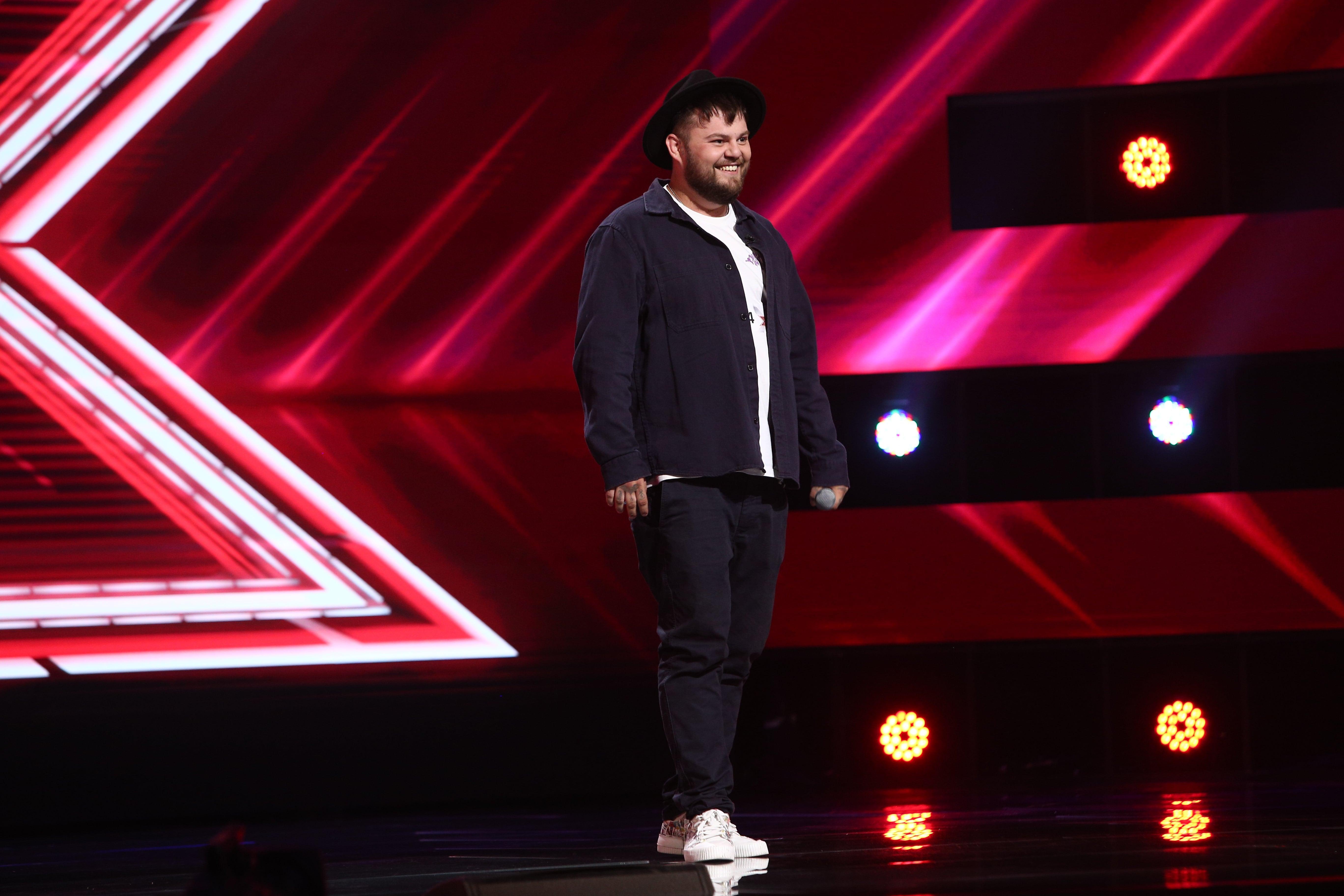 X Factor 2021, 24 septembrie. Bogdan Panaite Casper a făcut un moment de rap improvizat folosind cuvinte date de juriu