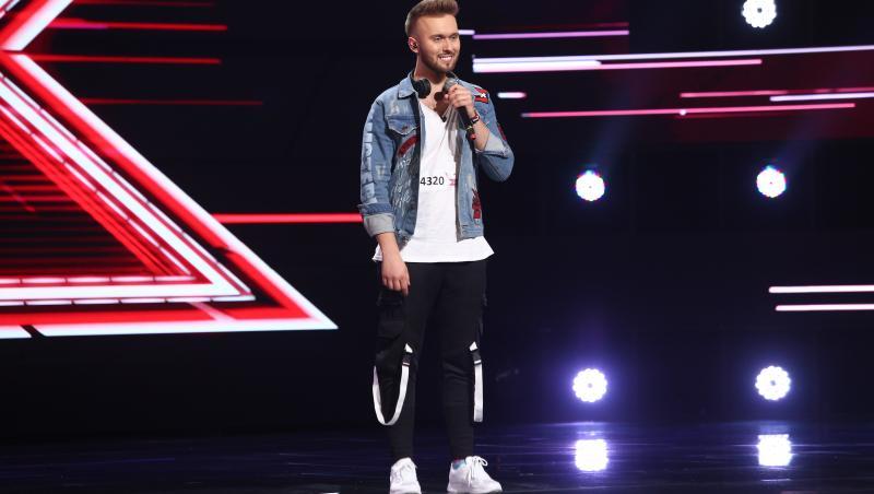 Szymon Grzybacz, la X Factor, sezonul 10, ediția 5, pe scenă