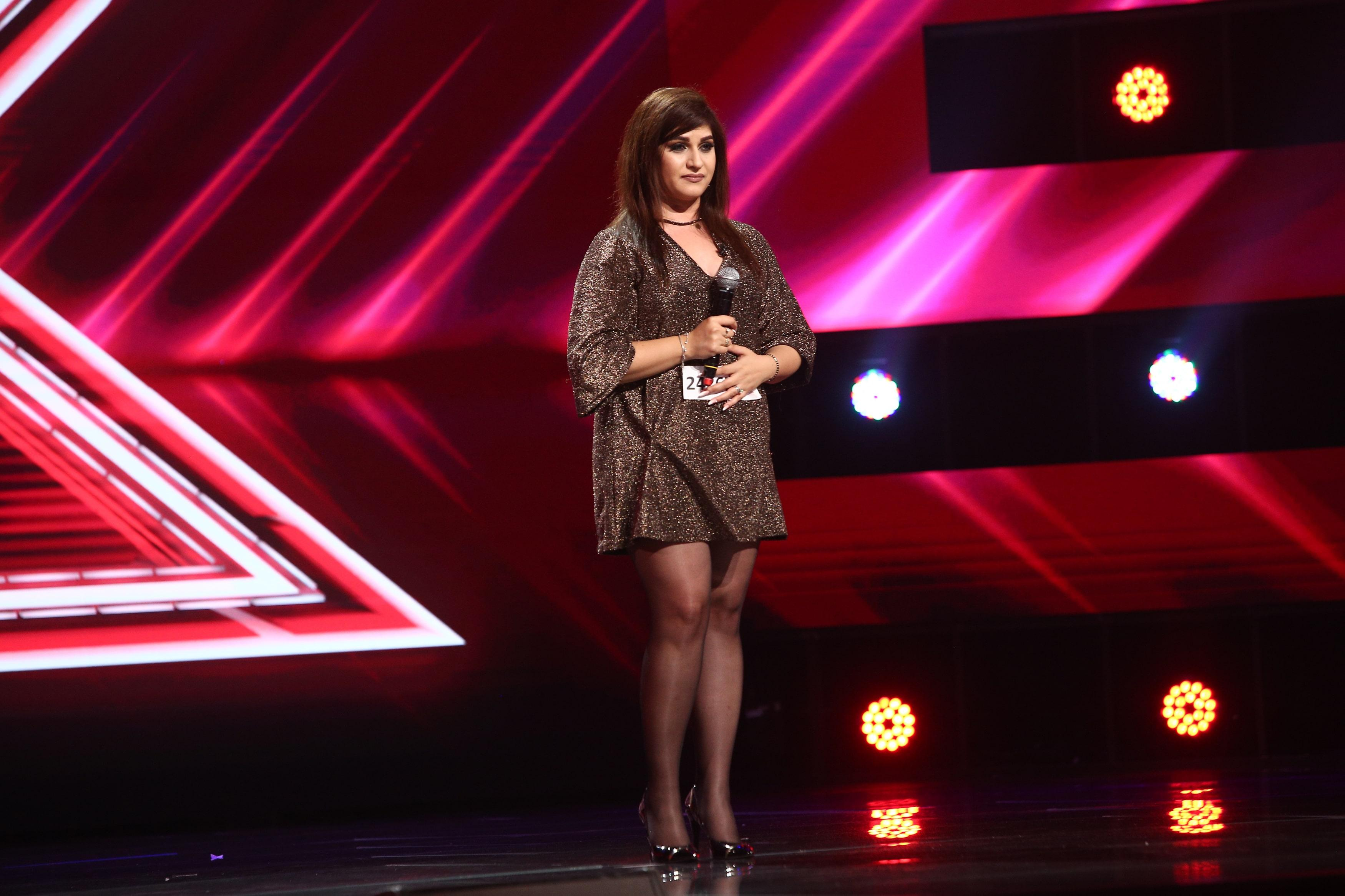 X Factor 2021, 24 septembrie. Lavinia Ioana Lăcătuș, interpretarea perfectă a piesei Make it rain cu care a surprins juriul