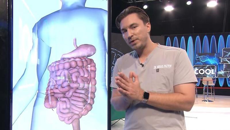 Medicul Pautov, la aplicatia Biomap, vorbind despre enterocolita
