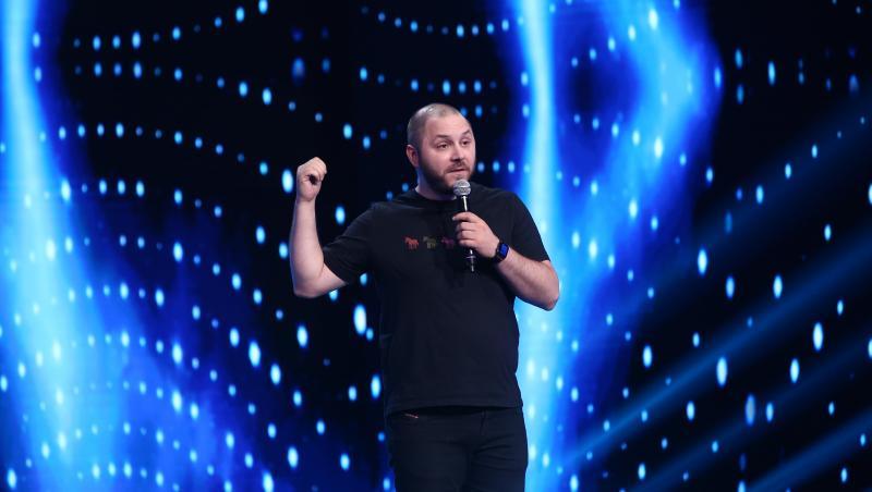 Bogdan Mălăele, pe scena iUmor 2021, în calitate de invitat