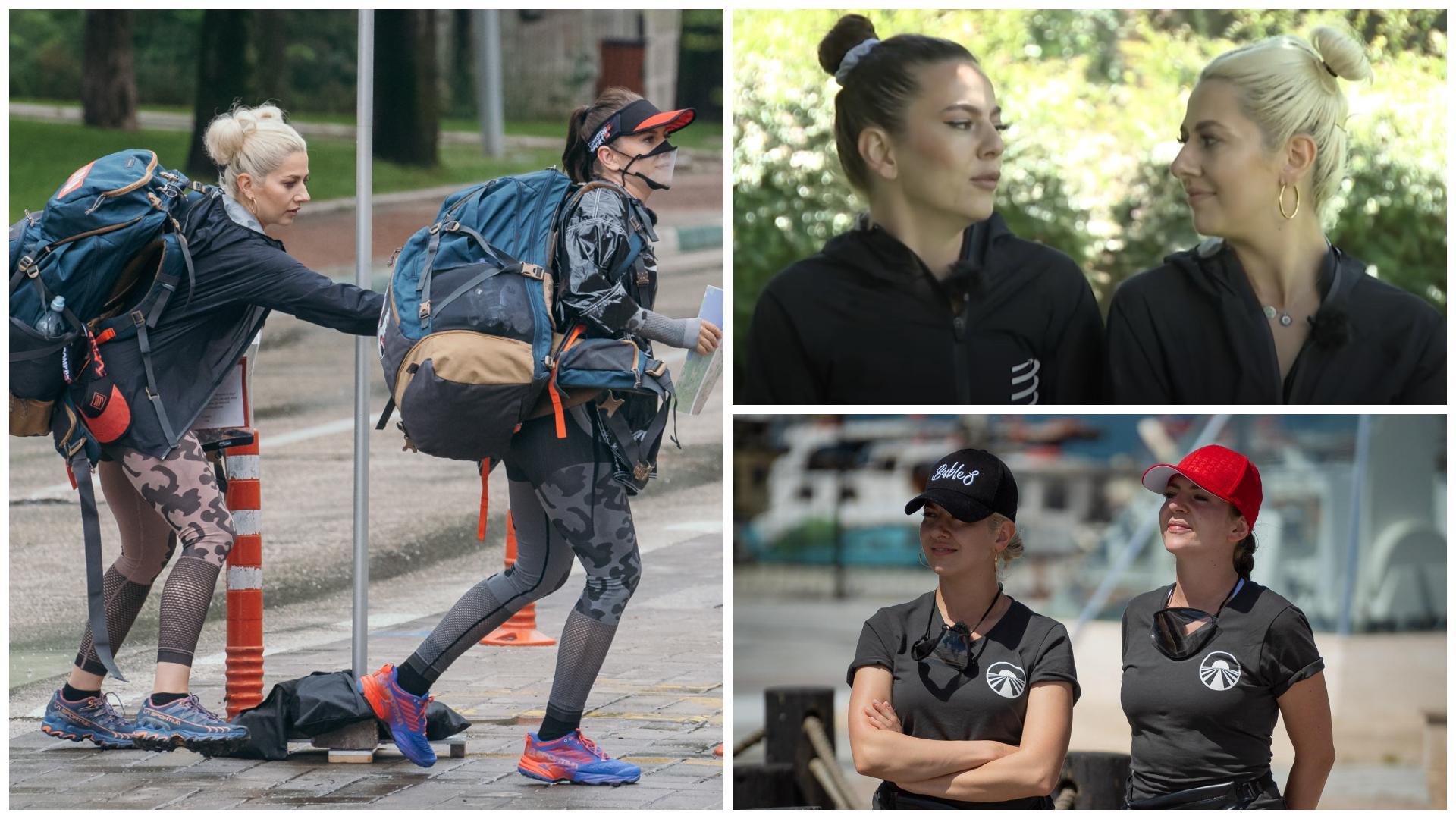 """Asia Express, 26 septembrie 2021. Lidia și Estera Buble au avut noroc de un șofer amabil la autostop: """"Ăsta e soțul meu, gata"""""""