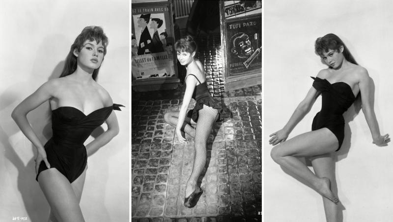 Colaj foto Brigitte Bardot