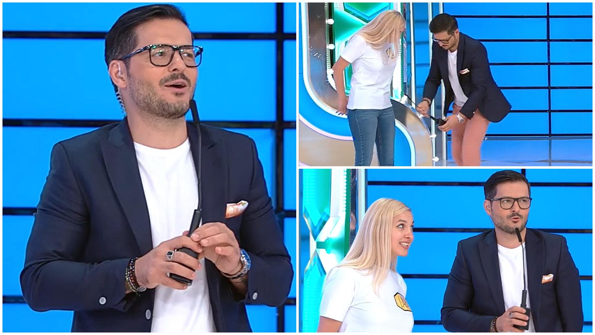 Prețul cel bun, 28 septembrie 2021. Laura l-a făcut pe Liviu Vârciu să scape microfonul din mână. Ce i-a spus concurenta