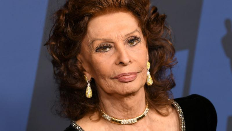 Sophia Loren, la batranete
