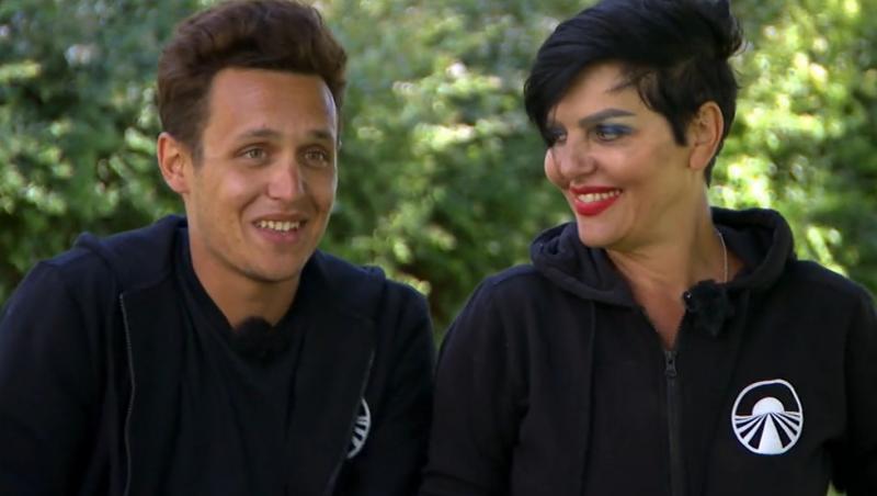 Francesco Paglieri, alături de mama sa, Patrizia, la Asia Express 2021