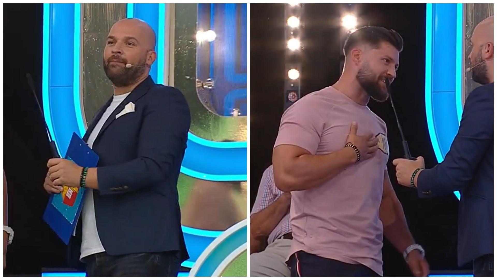 """Prețul cel bun, 29 septembrie 2021. Ionuț l-a surprins pe Andrei Ștefănescu cu aspectul său fizic: """"De frică l-am chemat!"""""""