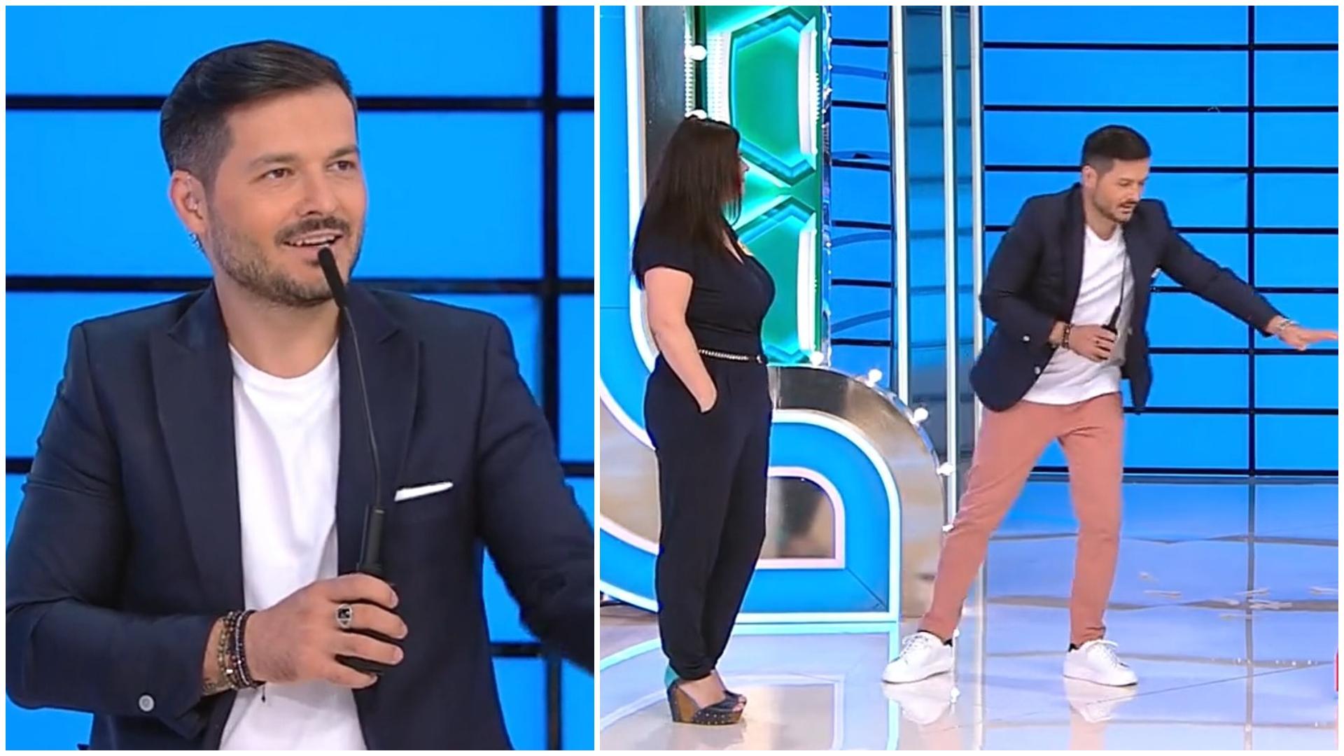 """Prețul cel bun, 30 septembrie 2021. Claudia l-a surprins pe Liviu Vârciu cu energia sa: """"Am început să mă topesc"""""""