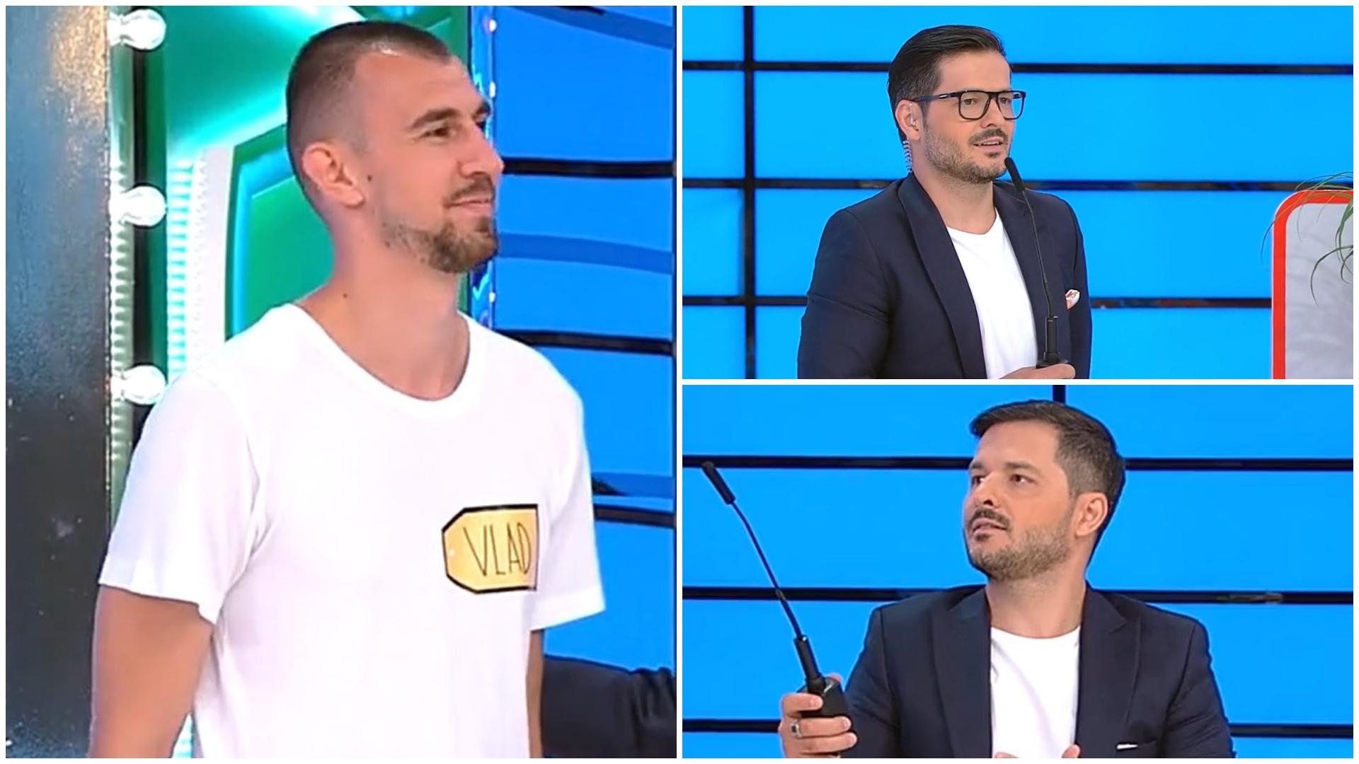"""Prețul cel bun, 30 septembrie 2021. Liviu Vârciu a rămas fără cuvinte când a văzut cât de înalt este Vlad: """"Tu n-ai nicio vină"""""""