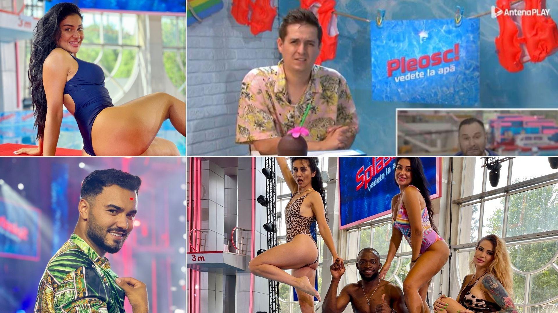 Pleosc! Vedete la apă 2021, episodul 5. George Tănase i-a luat la rost și la roast pe concurenții ediției 5 Splash! Vedete la apă