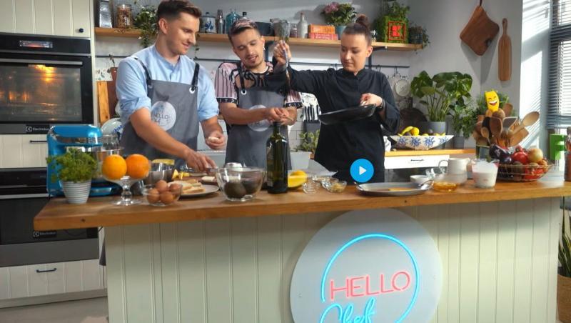 Cristian Boca și Keed au fost invitații speciali ai Roxanei Blenche în episodul 2 al show-ului Hello Chef, sezon 2