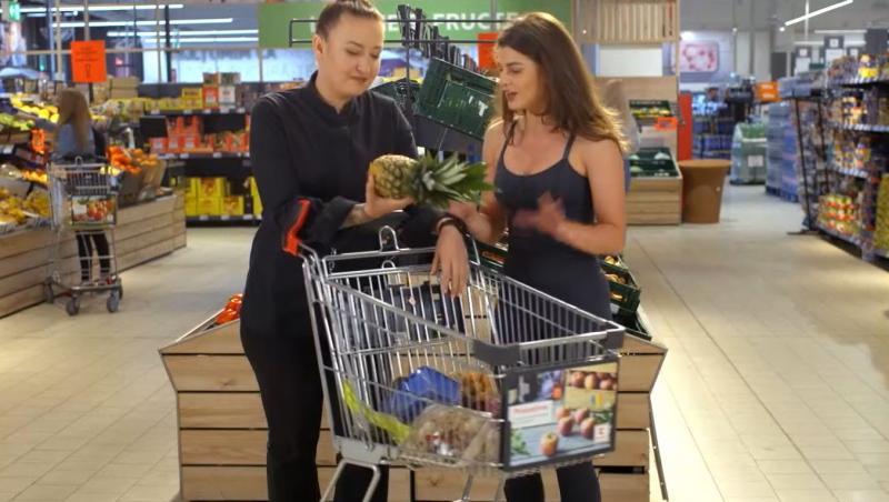 Alături de Roxana Blenche și cei doi invitați de nădejde, a fost prezentă și Iuliana Dabija, tehnicianul nutriționist al emisiunii