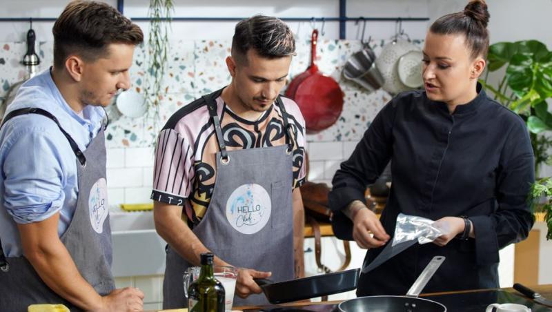 Hello Chef, sezon 2, episod 2. Invitații Roxanei Blenche au fost Keed și Cristi Boca