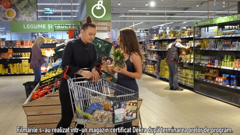 Roxana Blenche și Iuliana Dabija aleg de la Kaufland cele mai bune produse pentru rețetă