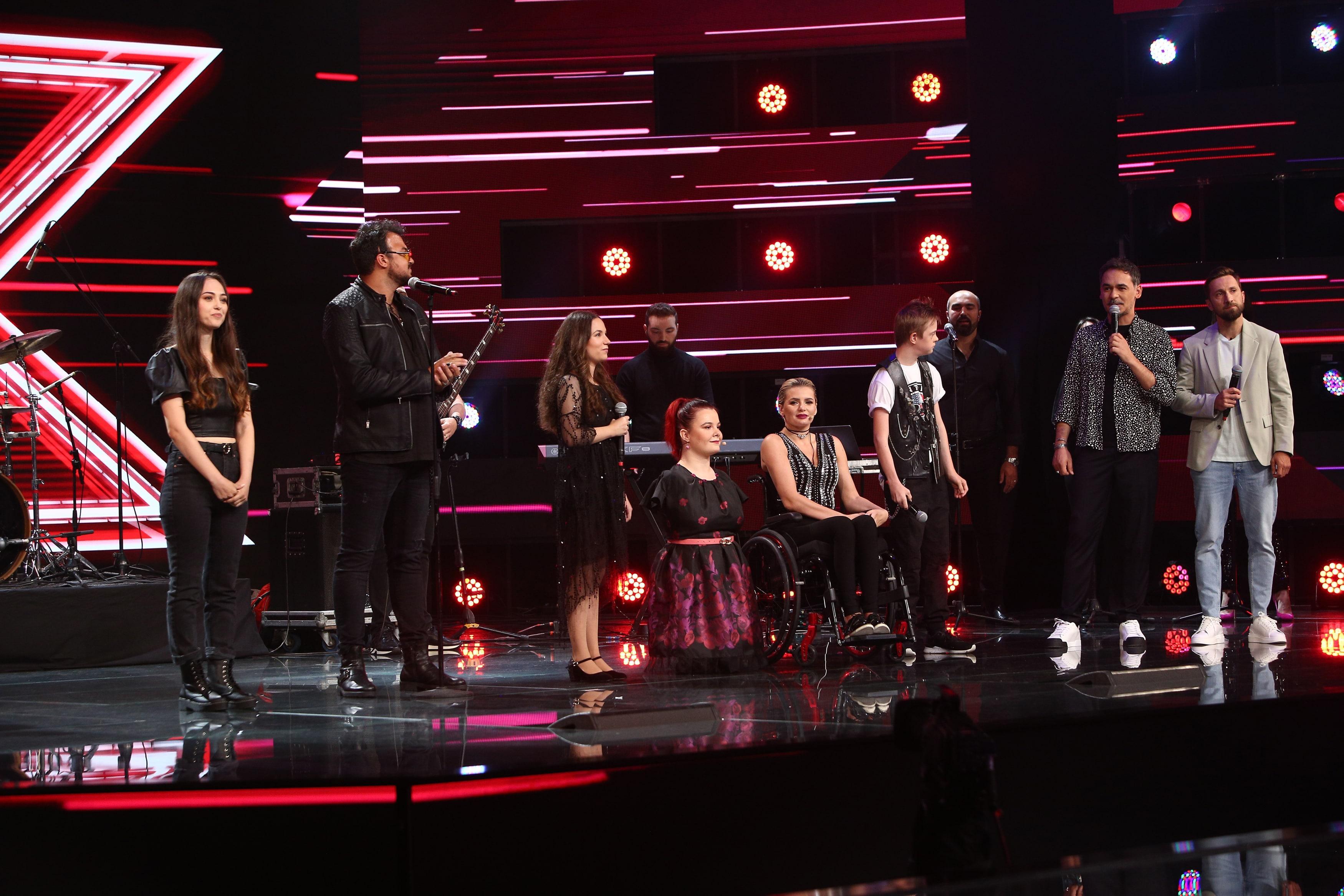 X Factor 2021, 6 septembrie. Andrada Precup a revenit pe scena show-ului. Invitații speciali alaturi de care a emoționat juriul