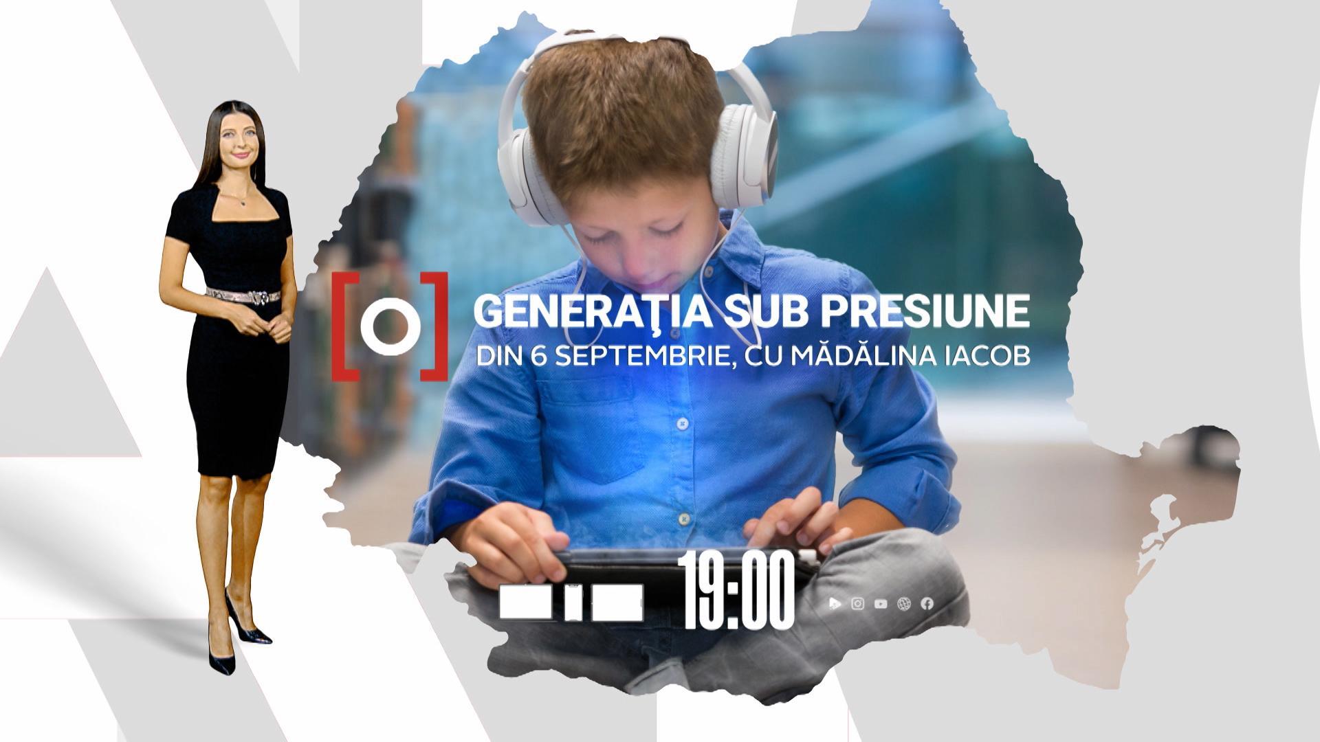 Generaţia sub presiune, campania care prezintă problemele elevilor după un an şi jumătate de pandemie, începe azi la Observator 19