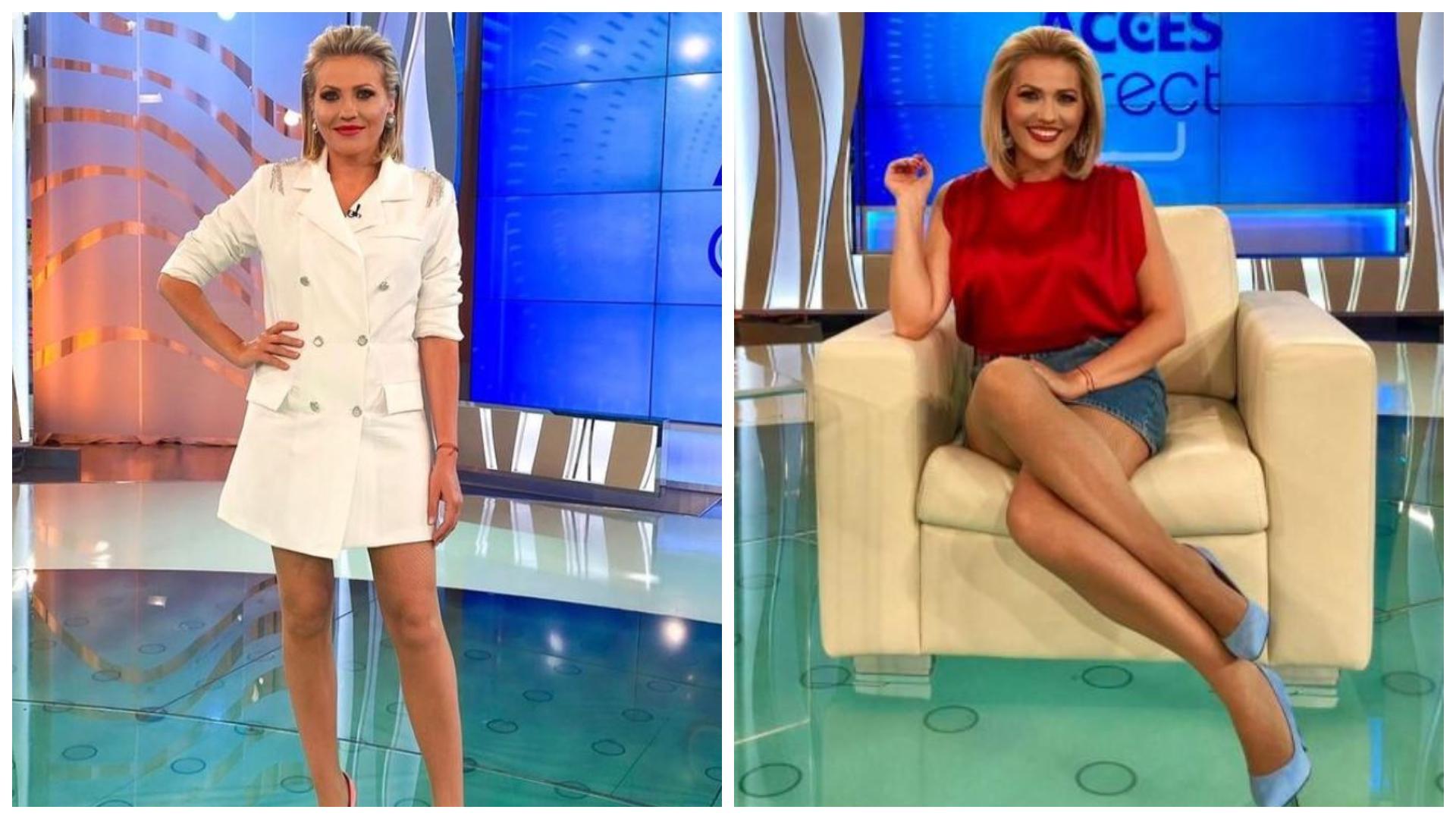 Mirela Vaida, schimbare radicală de look. Cum s-a fotografiat prezentatoarea TV înainte de a începe un nou sezon din Acces Direct