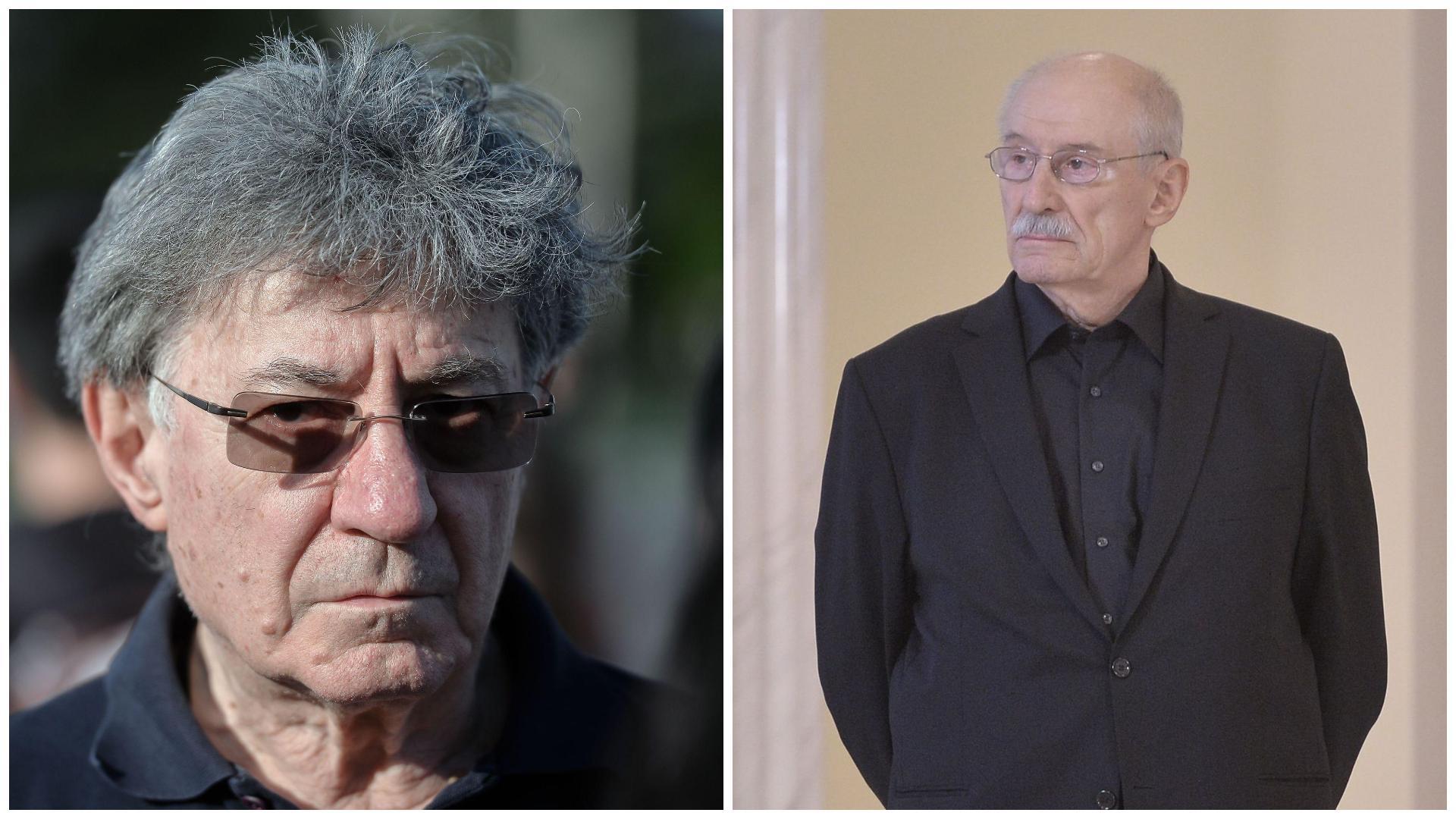 """Victor Rebengiuc, despre ultima discuție cu Ion Caramitru: """"După câteva ore spunea lucruri neinteligibile"""""""