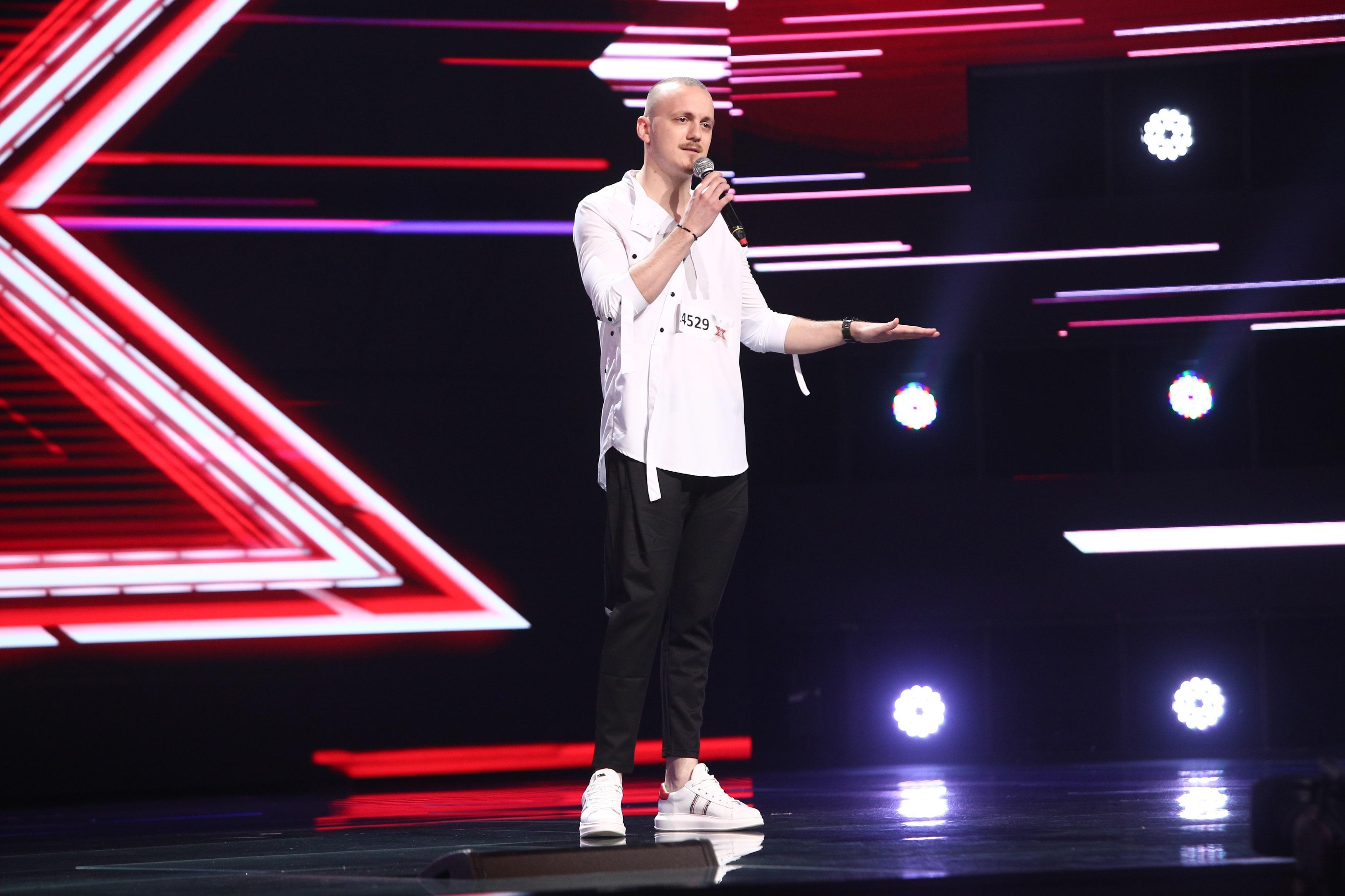 X Factor 2021, 6 septembrie. Alexandru Mailat, interpretarea piesei Runnin' cu care a impresionat juriul