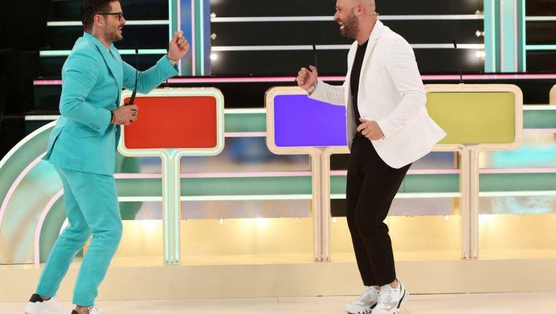 Liviu Vârciu și Andrei Ștefănescu la Prețul cel bun, dansează