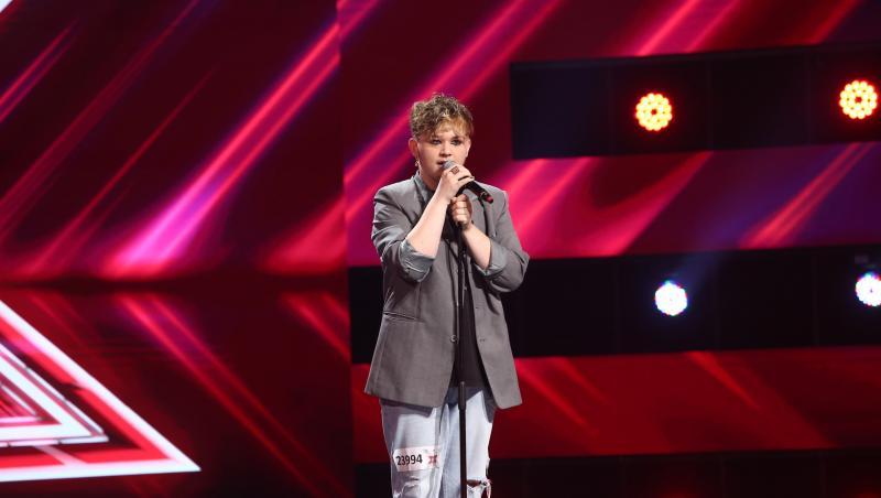 Ionuț Hanțig a impresionat juriul cu interpretarea piesei Proud Mary de la Tina Turner la X Factor 2021