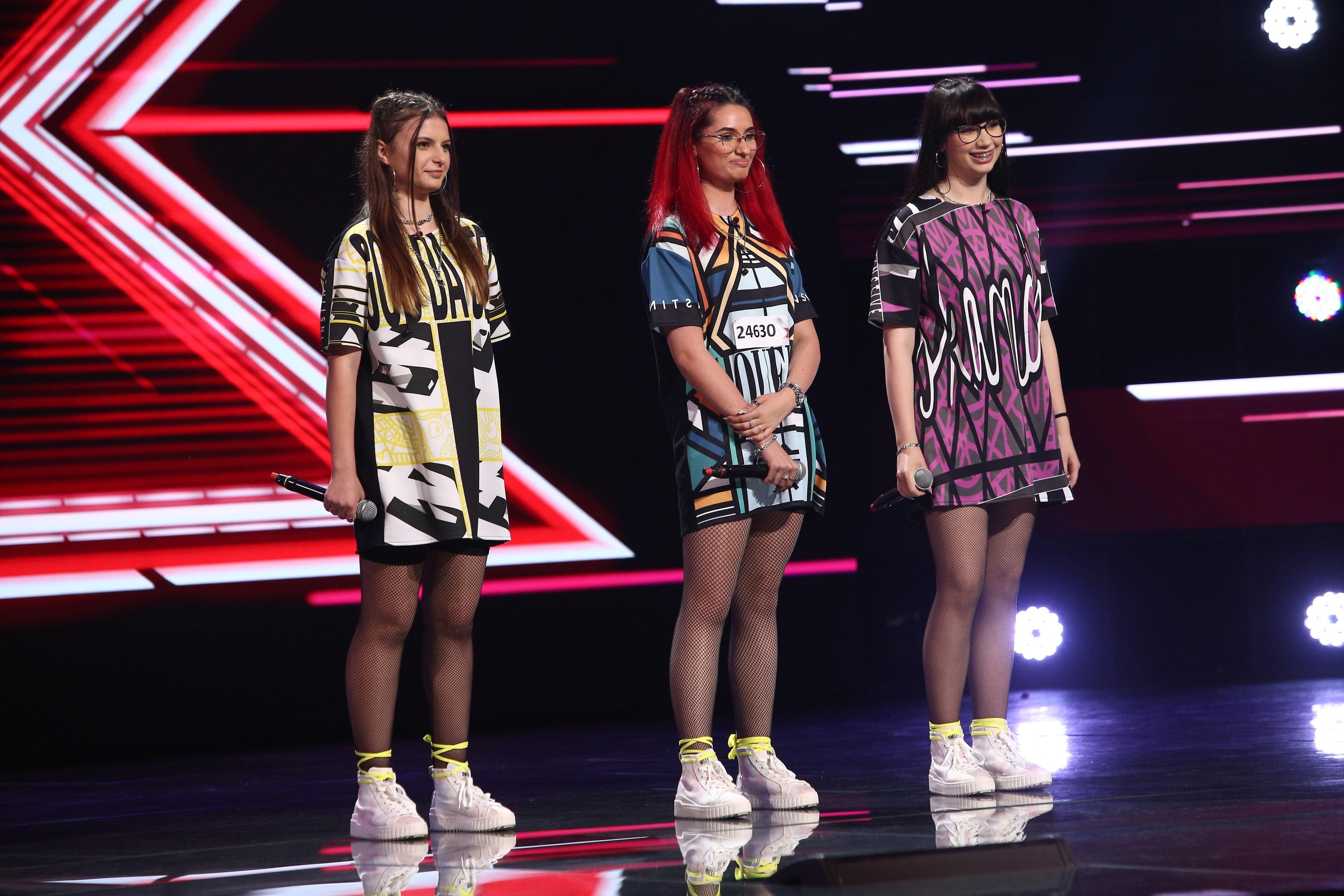 X Factor 2021, 6 septembrie. Trupa Especial, show total cu piesa Bounce Back. Cât de bine s-au descurcat cele trei fete