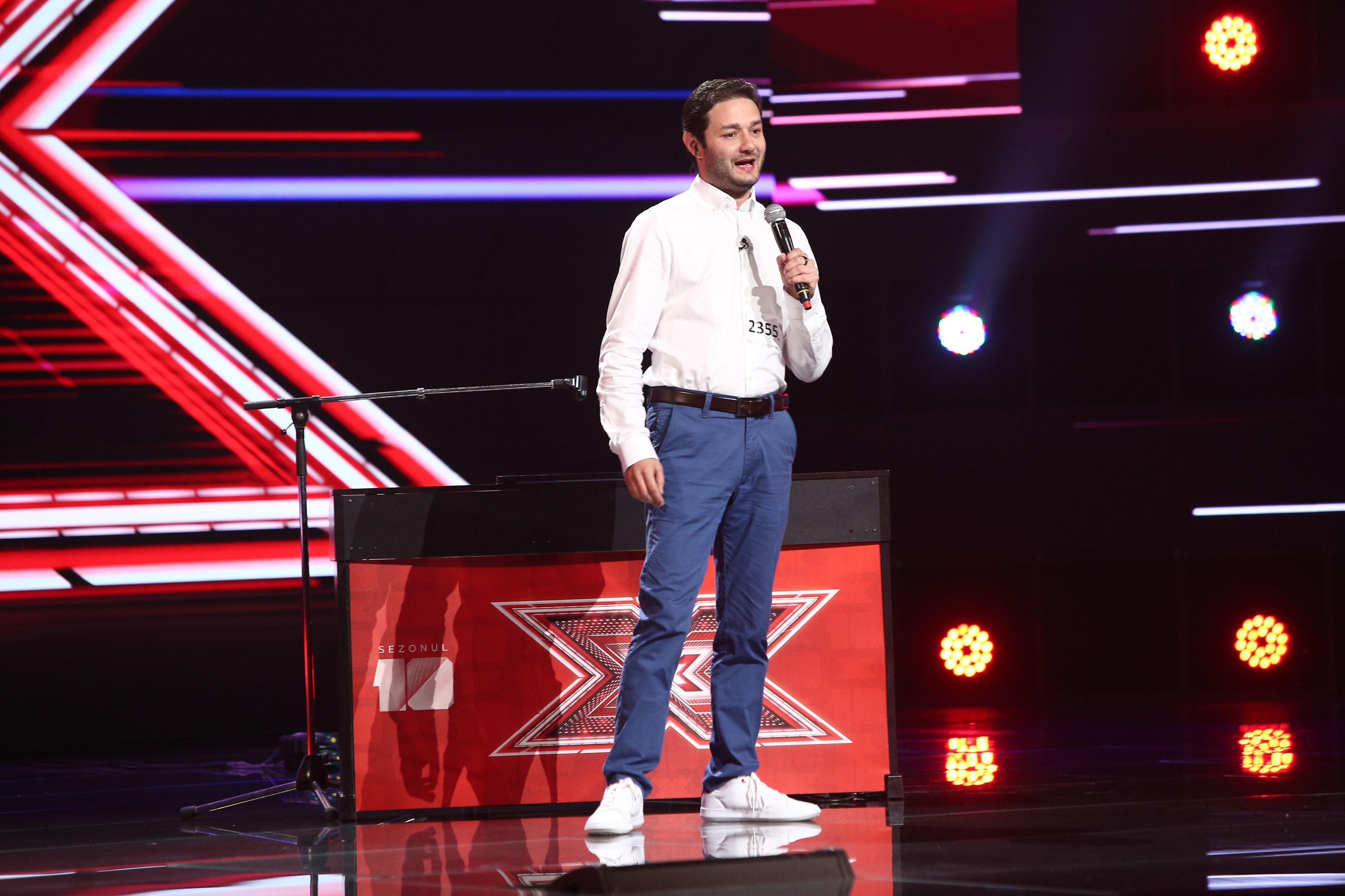 X Factor 2021, 6 septembrie. Ștefan J Doyle a impresionat juriul cu interpretarea impecabilă a piesei Tiny Dancer