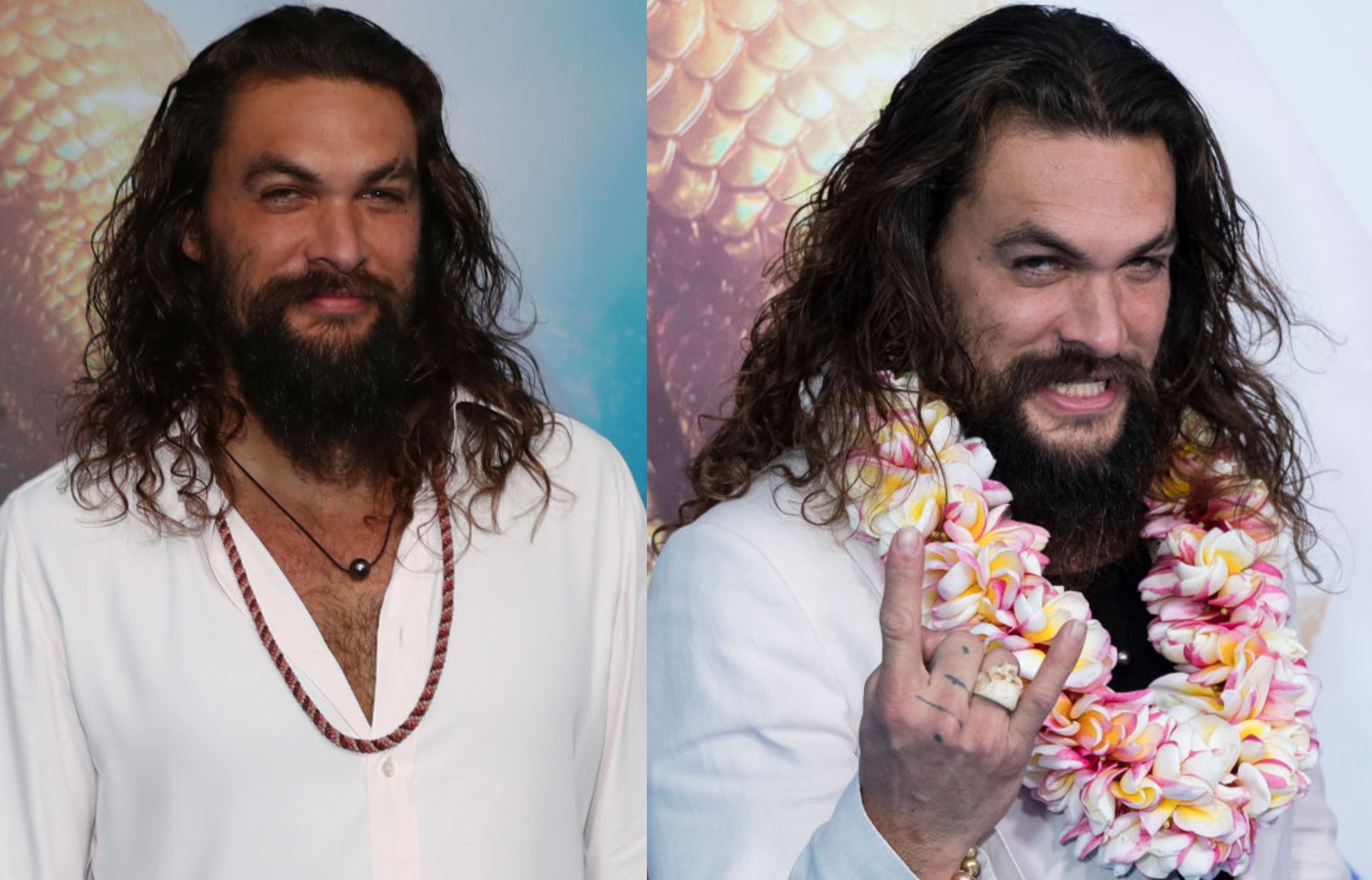 """Jason Momoa a dezvăluit cum arată noul """"costum invizibil"""". Imagine cu actorul din timpul filmărilor """"Aquaman and the Lost Kingdom"""""""