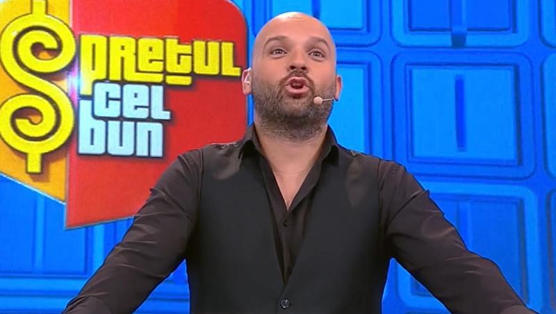 Andrei Ștefănescu în cămașă neagră