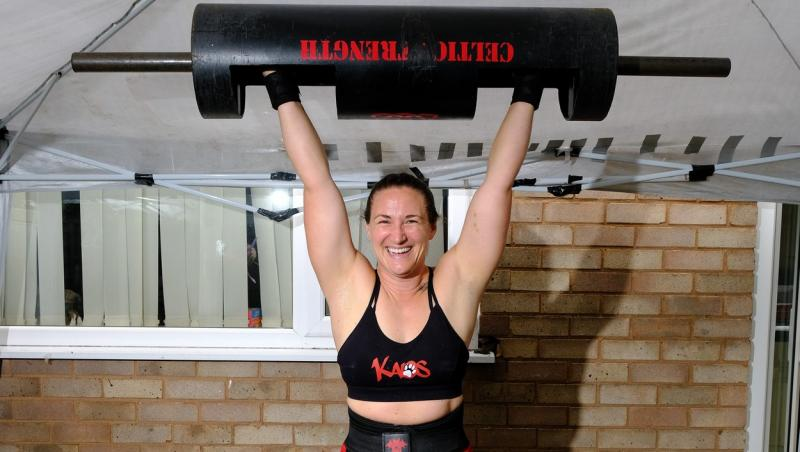 Maria Krzesinska ridicand greutati