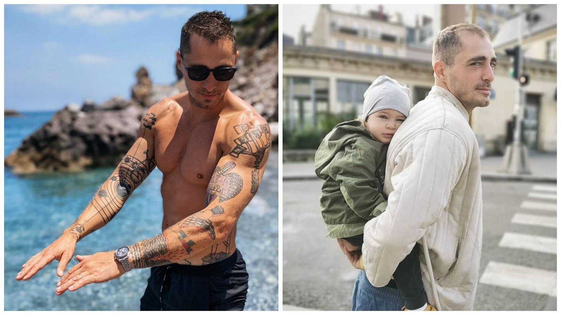 Cât de mult a crescut fiica lui Vladimir Drăghia. Micuța și tatăl său au fost filmați într-o ipostază adorabilă la piscină