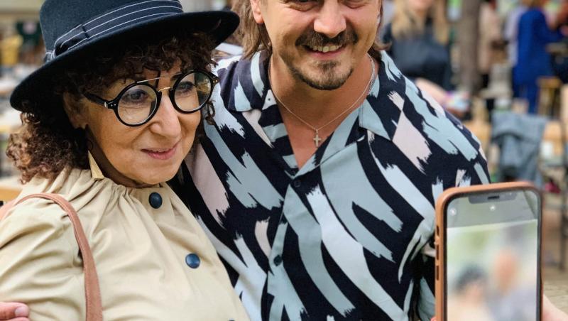 Mihai Petre, alături de Mona Segal, la avanpremiera sezonului 4