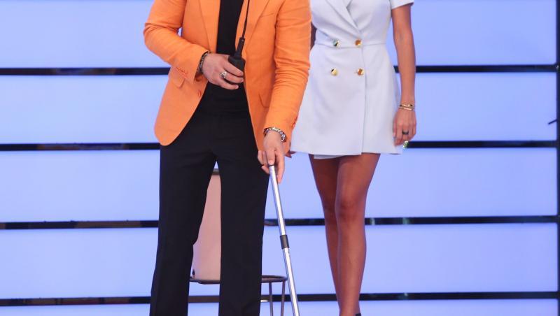 Liviu Vârciu și Iuliana Luciu în platoul Prețul cel bun